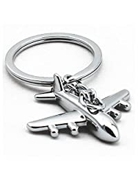 GOOTRADES Mini Airplane Alloy Keychains Keyring Creative Keyfob (pack of 2)
