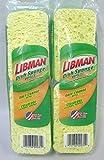 Libman Dish Sponge Refills, 2-Packs (4-sponge refills)