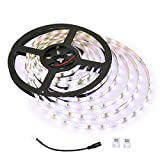 kitchen cabinet images LE 12V LED Strip Light, Flexible, Waterproof, SMD 2835, 16.4ft Tape Light for Home, Kitchen, Under Cabinet and More, Daylight White