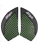 Tank Gas Pad Knee Fuel Side Grips Protector For Kawasaki Ninja 650 2017 (Green)