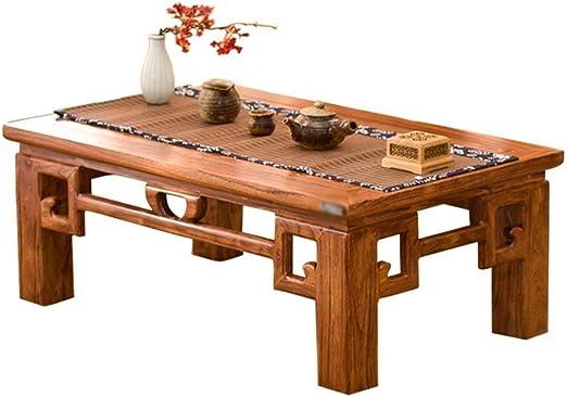 Mesa final pequeña Tabla antigua de café, madera maciza chino ...