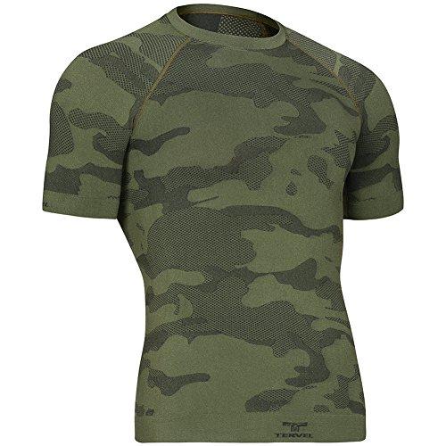 Tervel Optiline Light Tactical Camicia Manica Corta Military / Grigio