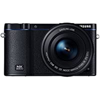 Samsung NX3300 Smart Digital Camera with 16-50mm f/3.5-5.6 OIS Power Zoom Lens (Black)
