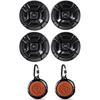 (4) Polk Audio DB652 6.5 300 Watt Car Audio Marine/ATV/Motorcycle/Boat Speakers