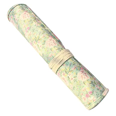 Toyvian Pinceles para Pintar Estuche Wrap Roll Up Bolígrafo ...