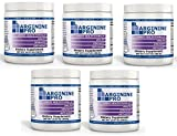 L-arginine Pro, #1 NOW L-arginine Supplement - 5,500mg of L-arginine PLUS 1,100mg L-Citrulline + Vitamins & Minerals for Cardio Health, Blood Pressure, Cholesterol, Energy (Berry, 5 Jars)