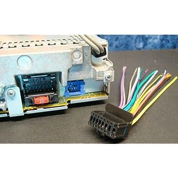 amazon com power cord harness speaker plug for select pioneer car rh amazon com pioneer car radio wiring harness pioneer car stereo wiring diagram