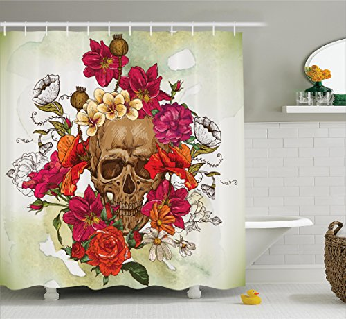 Ambesonne Decorations Collection Camellias Polyester