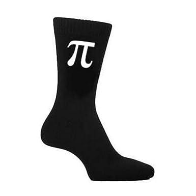 Oaktree Gifts Pi Symbol Mens Black Cotton Socks Amazon Clothing