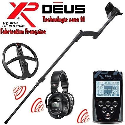 Metal Detectors Xp-Detector De metales Deus Full 4-Tecnología inalámbrica con mando a