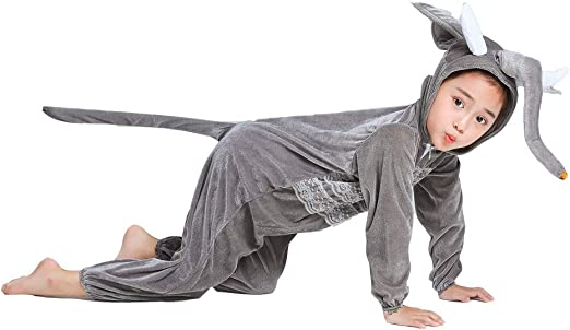 Unisex Kids Baby Animal Costume Fancy Dress Cosplay Jumpsuit Sleepwear Nightwear