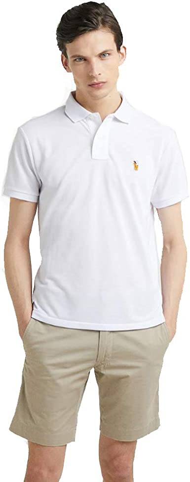 Ralph Lauren Polo Manga Corta Slim Fit: Amazon.es: Ropa y accesorios