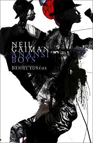 book cover of Anansi Boys