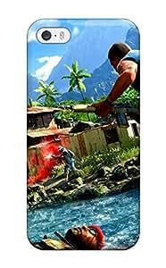 Iphone 5/5s Far Cry Print High Quality Tpu Gel Frame Case Cover