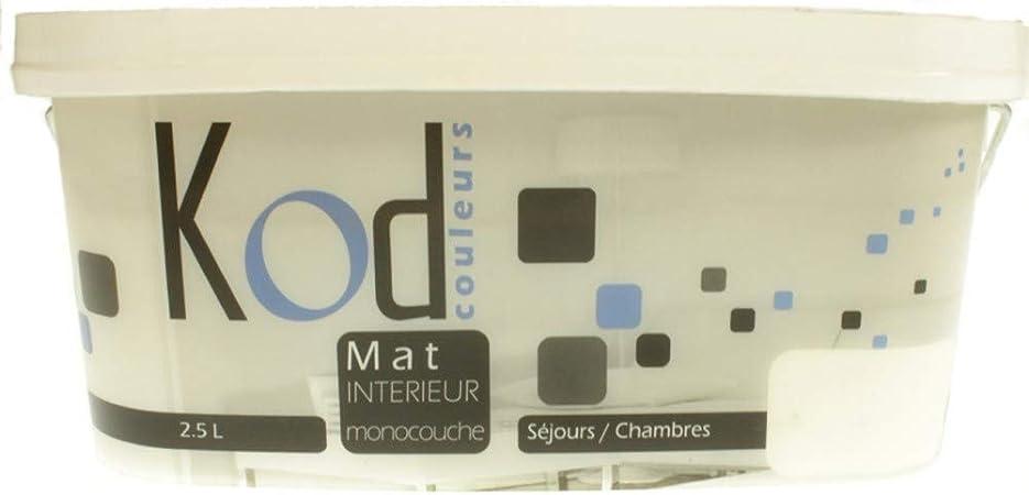 KOD Peinture Mat intérieur monocouche 2L5 Marron Glacé ...