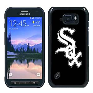 Recommended Design Samsung Galaxy S6 Active Case,Baseball Chicago White Sox Black Samsung Galaxy S6 Active Customized Case