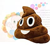 13.8'' Cute Emoji Emoticon Cushion Poo Shape Pillow Stuffed Doll Toy Plush Toy Children Adult Home Decor,Great Birthday Gift Christmas Gift for Boys and Girls