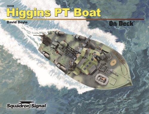 Higgins PT Boat On Deck