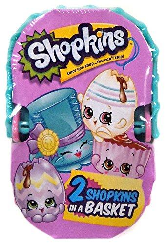 Amazon Com Shopkins Easter Basket 2 Shopkins 1 Basket Toys Games