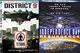Alien Invasion Double Feature - Independence Day: Resurgence & District 9 2-DVD Bundle