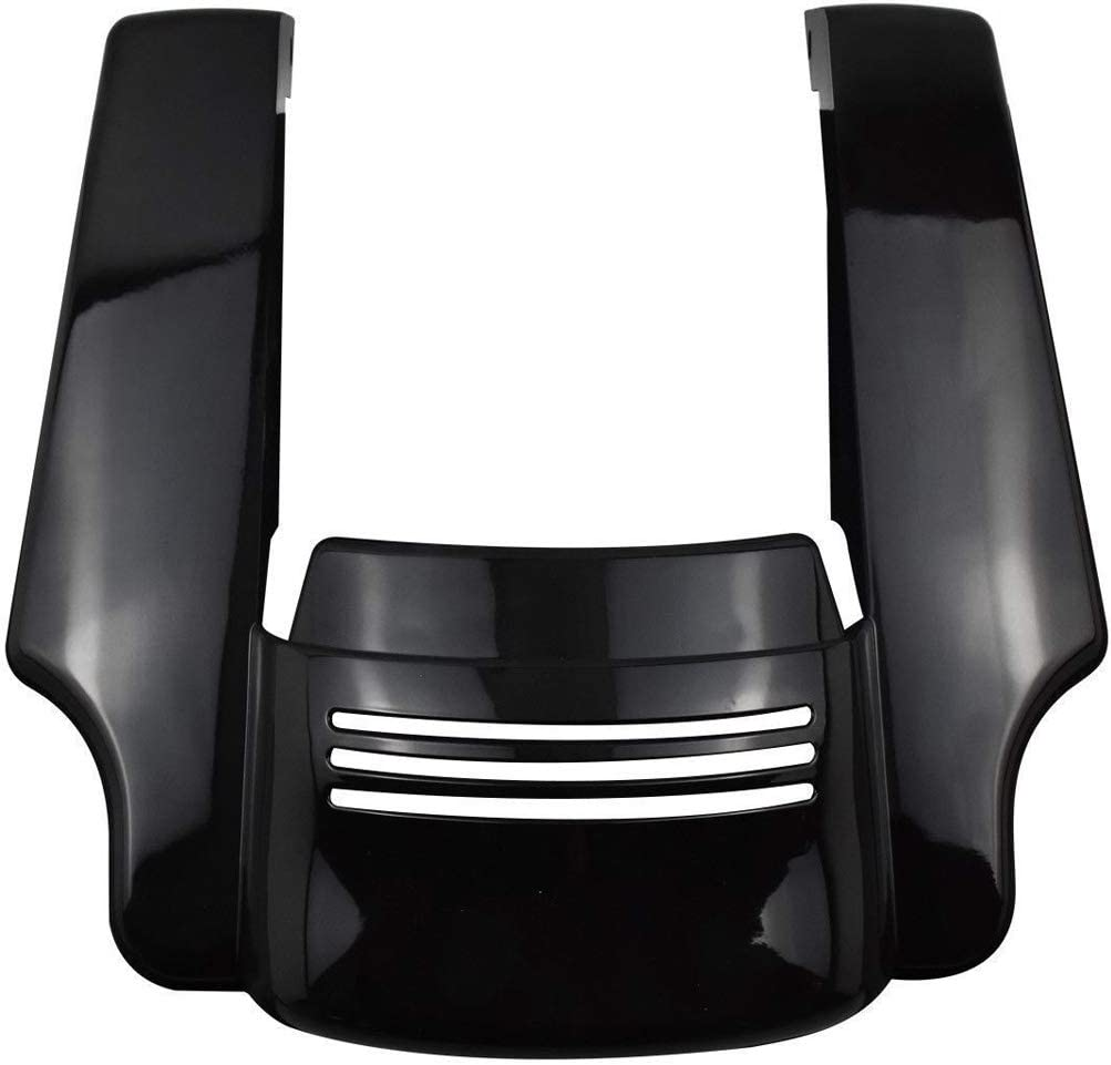 Mingting Motorcycle Rear Fender Extension Stretched for Harley Touring Street Road Glide 2014-2019