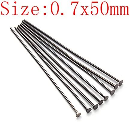 Rose Gold 200pcs//bag Dia 0.7mm Head Pins for Jewelry Making Accessories