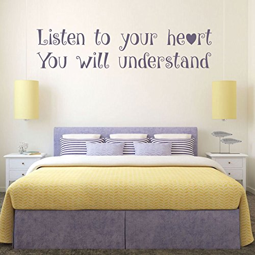 Disney Quote Wall Decals, Vinyl Wall Decals, Teenage Girls Room Decor, Master Bedroom Wall Art, Pocahontas, Friendship ()
