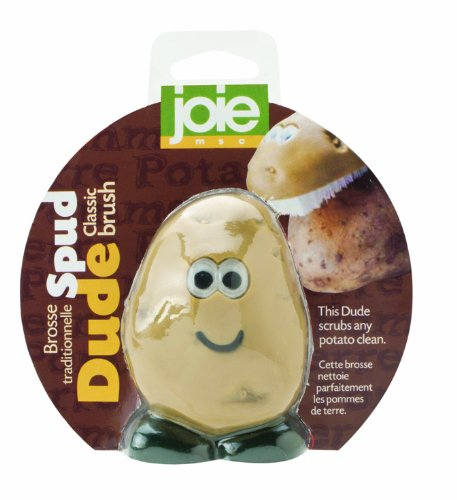 Joie Spud Dude Potato Vegetable Scrub Cleaner Brush