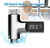 Liushuliang LED Shower Water Thermometer Children's Bath Temperature Real-Time Monitoring Water Temperature Monitor For Kids Adults