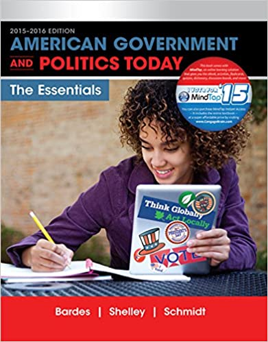 American government and politics today essentials 2015 2016 edition american government and politics today essentials 2015 2016 edition i vote for mindtap 18th edition kindle edition fandeluxe Gallery
