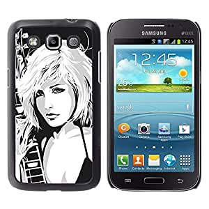 LECELL -- Funda protectora / Cubierta / Piel For Samsung Galaxy Win I8550 I8552 Grand Quattro -- Hot Attractive Girl --