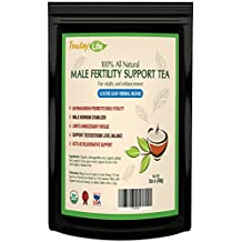Male Fertility tea, fertility booster supplement aid without pills | USDA Organic | Made in USA