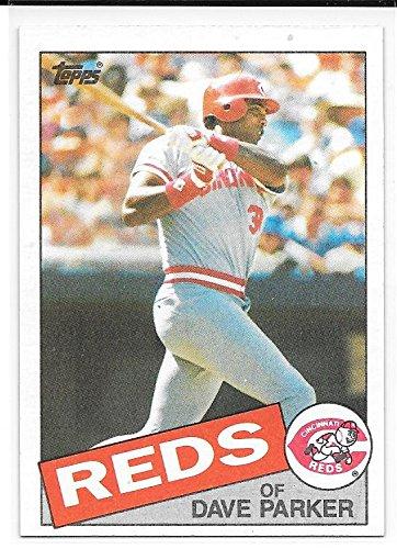 Dave Parker 1985 Topps Cincinnati Reds Card - Parker Dave Topps Reds