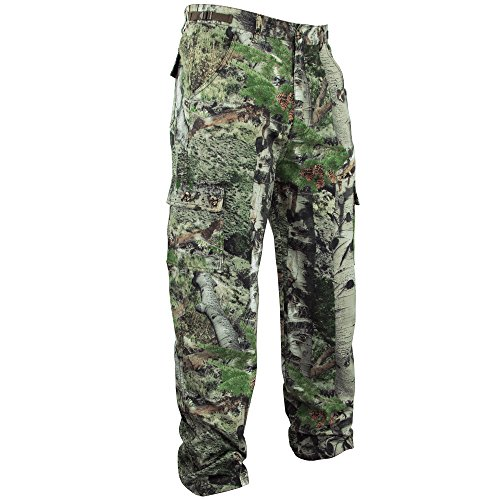 Mossy Oak Camouflage Cotton Mill Hunting Pants, Mountain Country, Medium