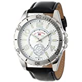 U.S. Polo Assn. Classic Men's US5159 Black Synthetic Leather Strap Watch