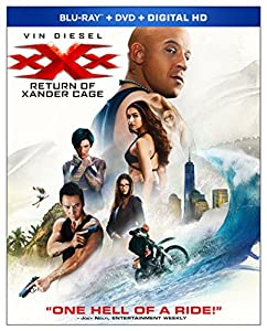 Cover Image for 'xXx: Return Of Xander Cage [Blu-ray + DVD + Digital HD]'