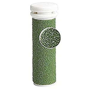 Foot Solutions Super Coarse Micro Mineral Replacement Rollers Compatible with Emjoi Micro-Pedi Callus Remover (5 Pack Green)
