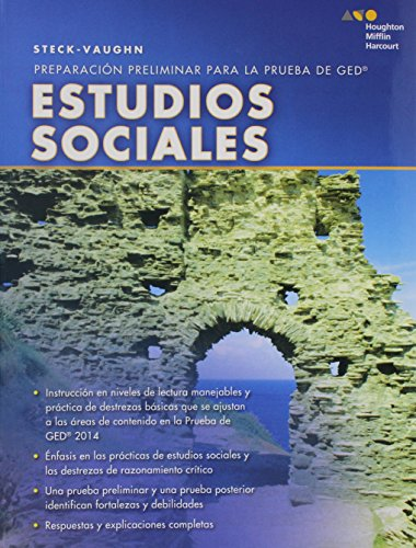Steck-Vaughn Pre GED, Spanish: Social Studies (Spanish Edition)