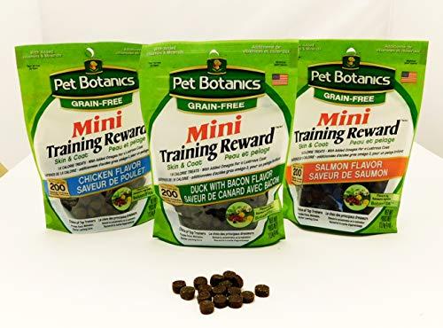 Pet Botanics Mini Training Rewards Grain-Free Duck With Bacon Treats For Dogs (1 Pouch), 4 Oz
