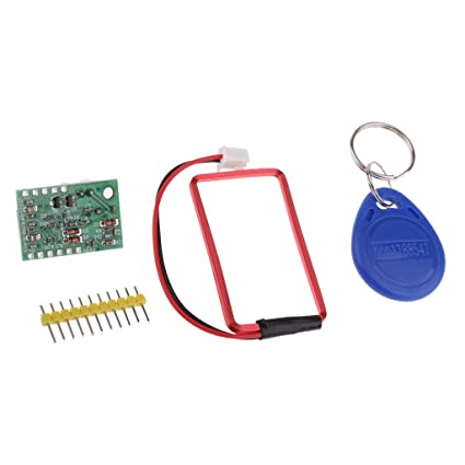 Baoblaze UART 125Khz EM4100 RFID Card Sensor Module + Key Tag for