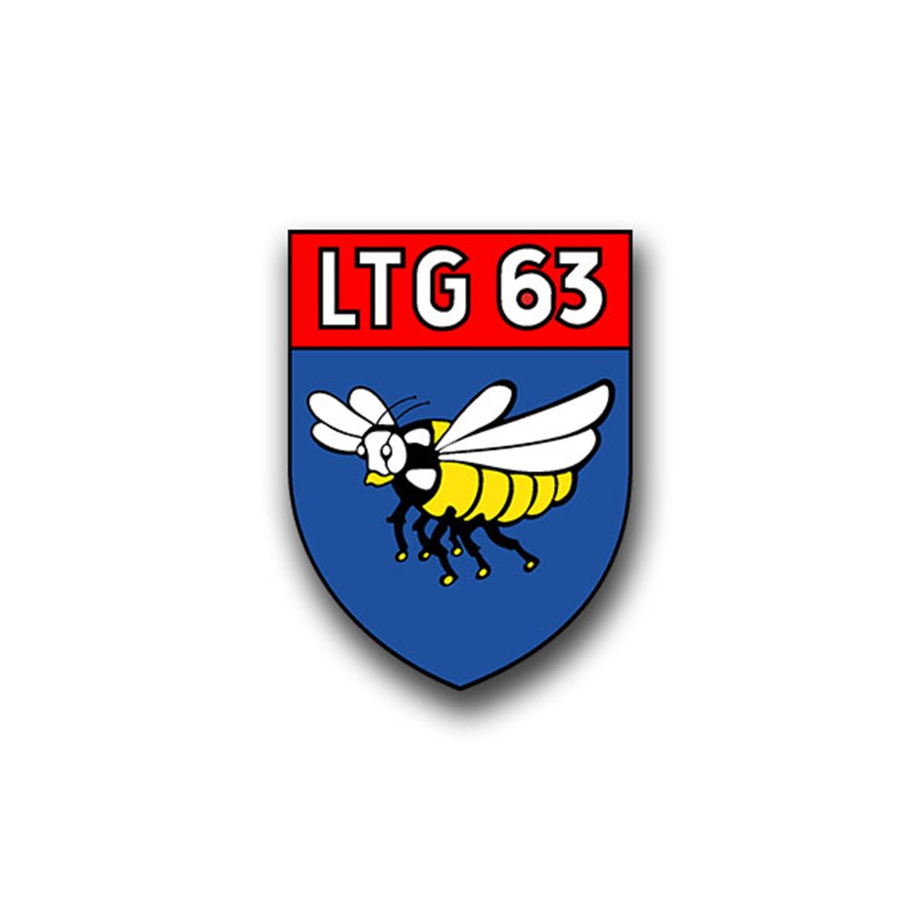 Aufkleber//Sticker LTG 63 Lufttransportgeschwader Luftwaffe Flieger 5x7cm A860