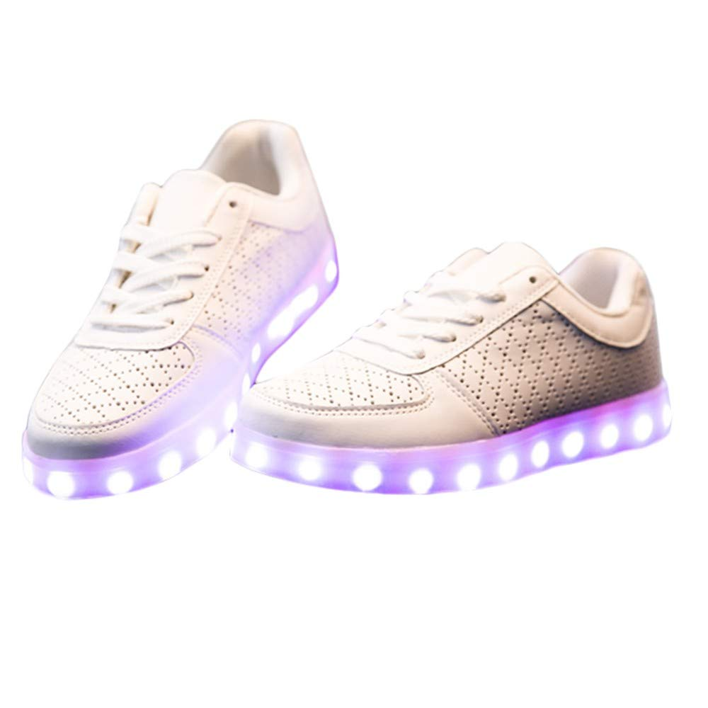 Pandaie-Mens Shoes Couple Casual Shoes USB Charging Sports Radiant Shoes Colorful LED Lights Shoes