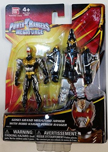 Power Ranger Megaforce Gosei Grand Megazord Armor with Robo Knight Power Ranger