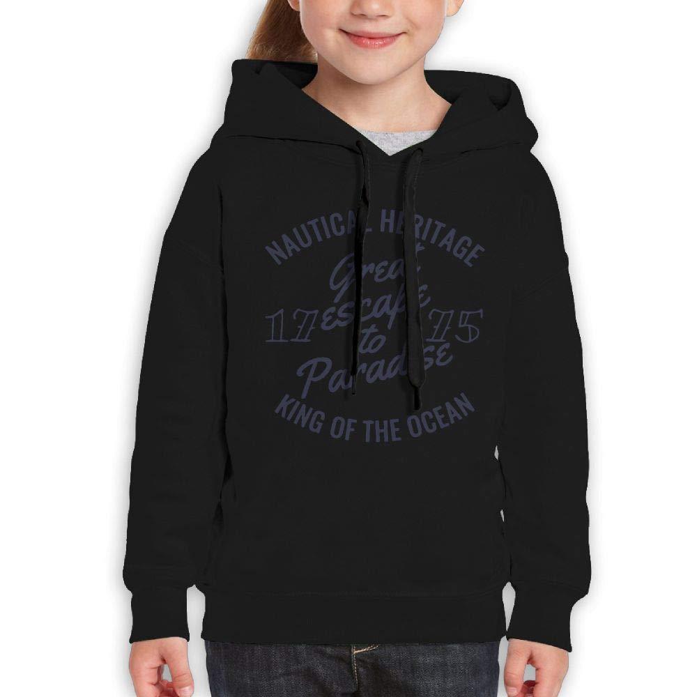 Yishuo Boys & Girls Limited Edition Friday Classic Travel Sweater M Black