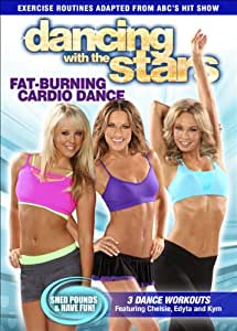 Dancing With The Stars: Fat-Burning Cardio Dance [DVD]