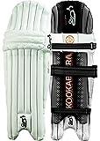 Kookaburra Unisex Onyx 200 Cricket Batting Legguards, White by Kookaburra