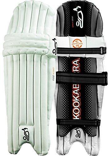 Kookaburra Unisex Onyx 200 Cricket Batting Legguards, White by Kookaburra by Kookaburra