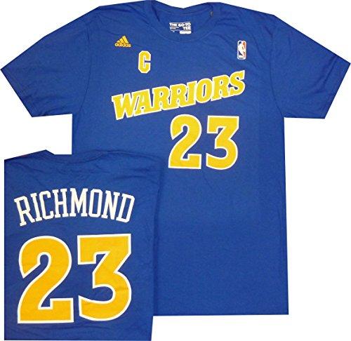 Golden State Warriors Mitch Richmond Throwback Adidas Royal Blue Shirt