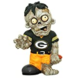 Green Bay Packers Resin Zombie Figurine