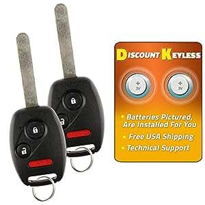 Amazon.com: Llave de encendido de auto, Discount Keyless ...